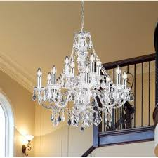 cheap chandelier lighting. Classy Candle-Style Chandelier. By Endon Lighting Cheap Chandelier