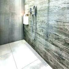 linear shower drain install slot line 1200mm
