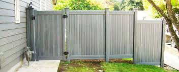 Vinyl fence with metal gate Wrought Iron Bufftech Vinyl Fence Skipbeaninfo Pacific Fence Wire Co Fence Installation Portland Or