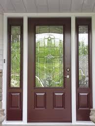 steel front door with glass sevenstonesinc