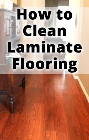 best solution for cleaning laminate wood floors