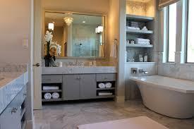 gray bathroom vanity. Burrows Cabinets Modern Gray Bathroom Vanity With SoCo Doors