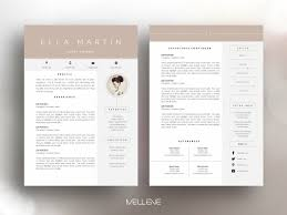 Resumecv Template Clean Modern And Professional T