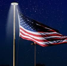 Flag Lights Pole Amazon Com Chezaa Solar Lights Outdoor Solar Powered