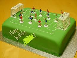 Football Chocolate Birthday Cake Weebirdies Café