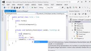 083 - How to validate a string in C#