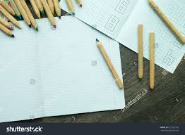 office drawing tools. Drawing Tools On A Desk, Office Or School Work Space Concept, Copy O