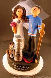 New York Jets Wedding Cake Topper