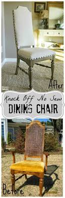 cloth chairs furniture. diy furniture makeover redo chair knock off no sew dining chairs u2013 blessu0027er house advanced interior designs style cloth w