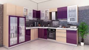 Small Picture Modren Simple Kitchen Wallpaper With Modern Refrigerator In Design