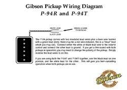 gibson p 94r b c pickup th n uk pickup wiring diagram