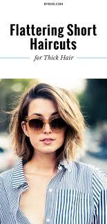 The Most Flattering Short Haircuts For Thick Hair Hair Haircut