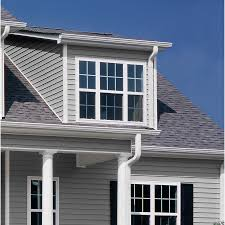 Shop GeorgiaPacific Vinyl Siding Vision Pro In X In Gray - Exterior vinyl siding