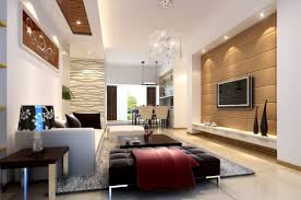 living room above leather layout walls furnishing budget tan