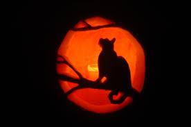 Cat Jack O Lantern Pattern Cool Inspiration