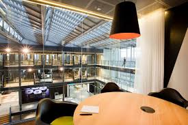 nice office pictures. BSH-Office-Space-Defined-by-Four-Story-Atrium- Nice Office Pictures R