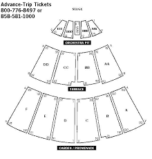 Sdsu Open Air Theatre Seating Chart Best Picture Of Chart