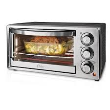 oster 6 slice stainless steel convection toaster oven tssttvf817 the home depot