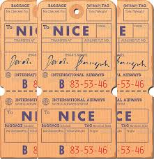 24 Luggage Tag Templates Free Sample Example Format