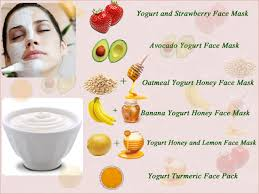 Yogurt and turmeric face mask for fairness