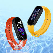 New <b>M5 Sports Smart</b> Watch Fitness Running Tracker Bracelet Step ...