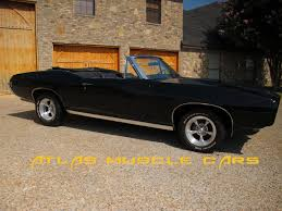 muscle cars for sale 1968 GTO convertible 400 auto 12 bolt 2116 ...