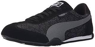 puma 76 runner womens. puma women\u0027s 76 runner animal sneaker, black/steel gray, puma womens m