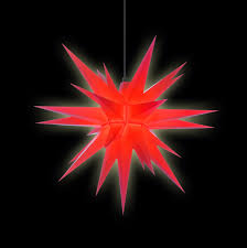 Herrnhuter Stern A7 Rot Kunststoff 68 Cm