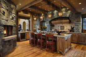 Stone Kitchen Stone Kitchen Interior Decoration Ideas Small Design Ideas