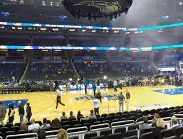 Amway Arena Seating Chart With Rows Orlando Magic Seating Chart Seating Chart