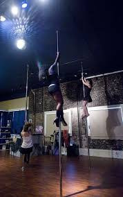 pole dancing helps build upper body strength since people have to support their weight