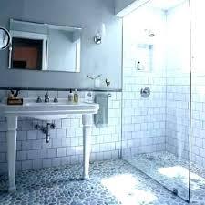 shower rock tile tiles for walls how river black floor problems wall