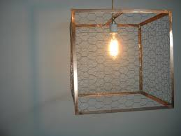 en wire chandelier with en pen plus diy movable en coop