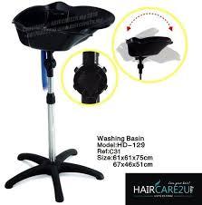 hd 129 standalone portable fiber hair washing basin point