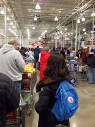do you really know what you re eating advancing storm panics long and getting longer at the costco whole in hackensack above and below the line for returns was as long as the one i saw right after christmas