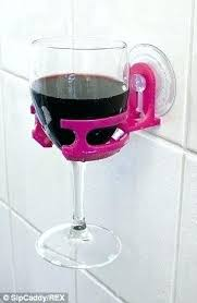 bathroom wine holder bathroom wine holder portable cup holder allows people to enjoy wine or beer