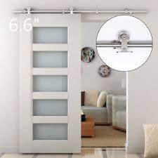 image is loading 6 6ft modern sliding door hardware kit stainless