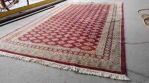 beautiful hand woven area rug wool silk 8 x 5 so nice long valley traders