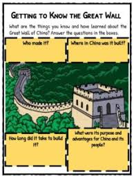 ancient chinese architecture worksheet. getting to know the great wall ancient chinese architecture worksheet