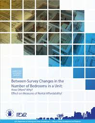 Between Survey Changes In The Number Of Bedrooms In A Unit: How Often? Why?  Effect On Measures Of Rental Affordability?