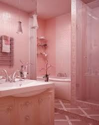 bold pink bathroom