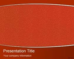 Basketball Powerpoint Template Free Basketball Powerpoint Theme Is A Free Texture Background For