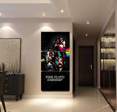 3 pcs pieces pink floyd music wall art panel print picture vertical decor on pink floyd wall decor with 3 pcs pieces pink floyd music wall art panel print picture vertical