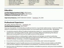 Sample Resume For Doctors Medical Cover Letter Entry Level