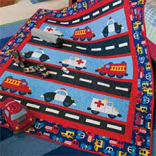 Highway Heroes: Cute Cars & Trucks Kids Quilt Pattern Designed by ... & Highway Heroes: Cute Cars & Trucks Kids Quilt Pattern Designed by HEIDI  PRIDEMORE Machine Quilted Adamdwight.com