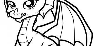 Cute Baby Dragon Coloring Pages Places To Visit Dragon Coloring