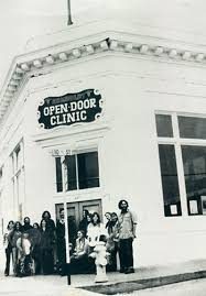 open door staff circa 1972