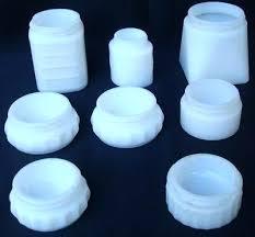 milk glass jars 8 vintage white milk glass pat glass milk jars for milk glass jars