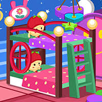 play twin baby room decoration game game at games2rule the