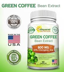 Amazon Com 100 Pure Green Coffee Bean Extract 180 Capsules